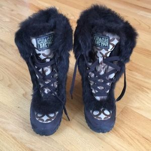 NWOT Coach Jennie Snow Boots